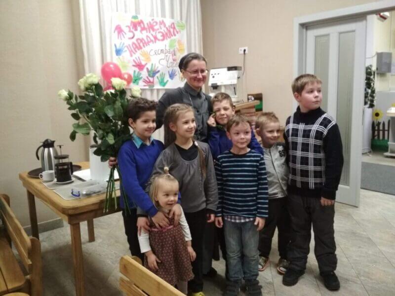 Поздравление с Рождеством Христовым от сестры Чеславы