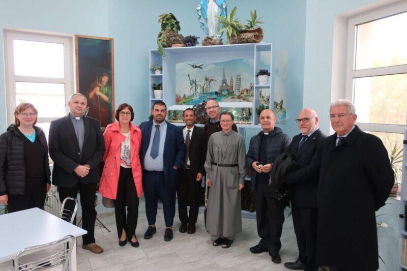 Центр посетила делегация из Италии