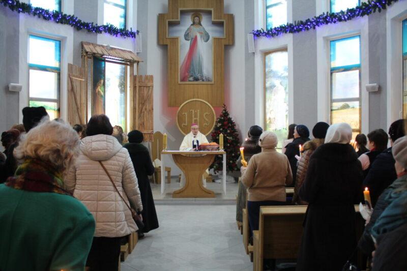 Архиепископ Кондрусевич отправил первую отпустовую Мессу в нашей часовне