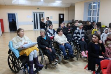 A concert for people with disabilities