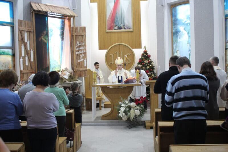 Митрополит Тадеуш Кондрусевич провел отпустовую св. Мессу в Социальном Центре