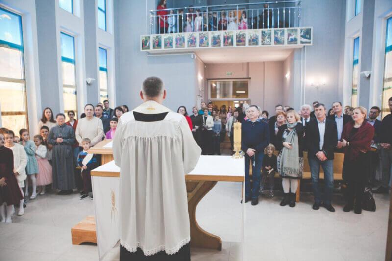 Епископ Олег Буткевич проведет реколлекции в Социальном центре