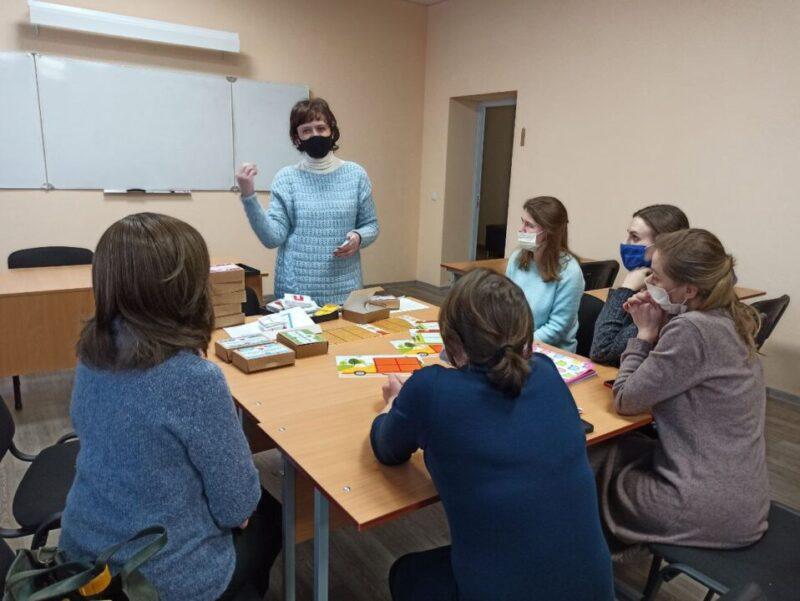 Проведен мастер-класс по развивающим настольным играм для педагогов Миссии