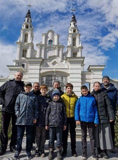 Міністранты з Місіі наведалі Івянец